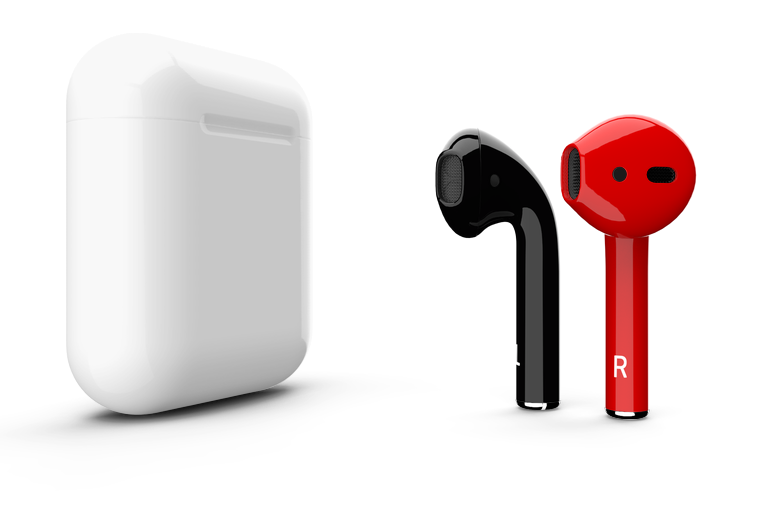 Customize the airpods color