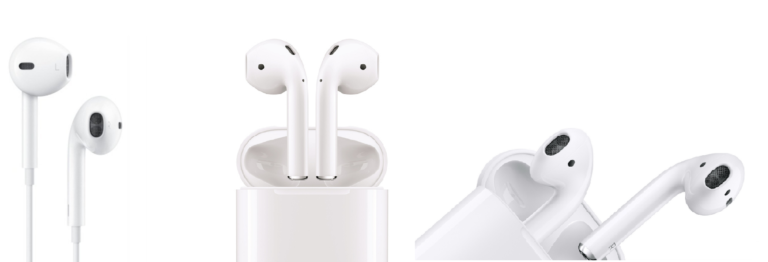 So sánh Apple Earpods và Airpods