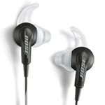 Bose sports earbuds with wingtips for workout