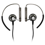 Earbuds with clips - old-school style