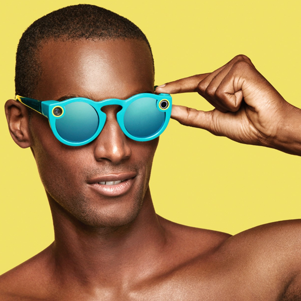 First smart wearable glasses of Snapchat - social media wearable