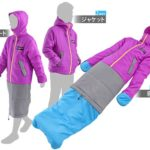 japanese wearable sleeping bag for both men and women