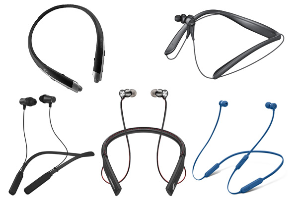 Wireless headphones bluetooth neck - earphones neckband bluetooth wireless