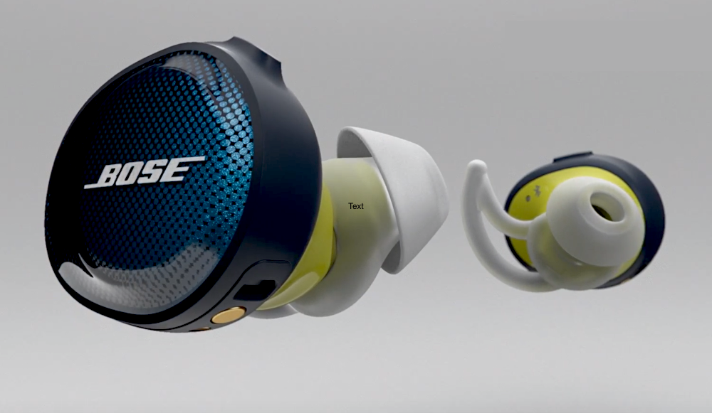 bose earbuds wireless. the bose true wireless earbuds are sweat- and water-resistant, but they don\u0027t have touch control like dash pro. there is a 3-button remote on r