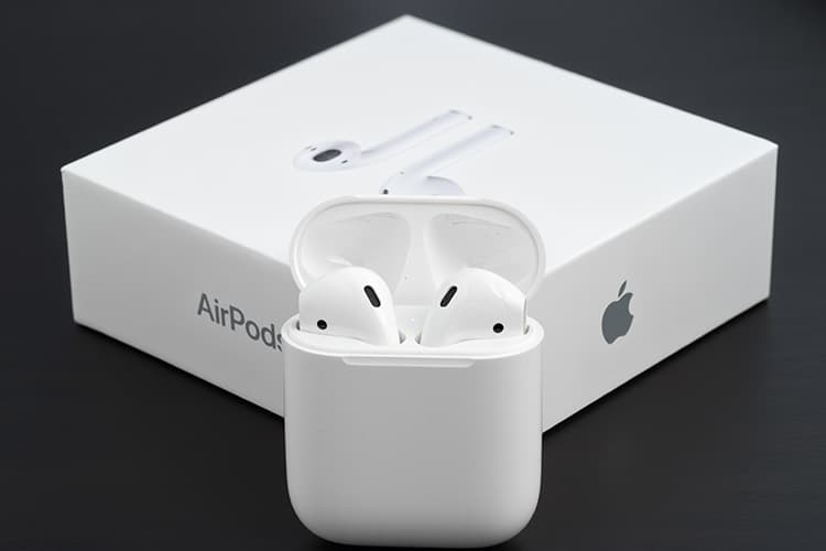 Apple AirPods With The Box