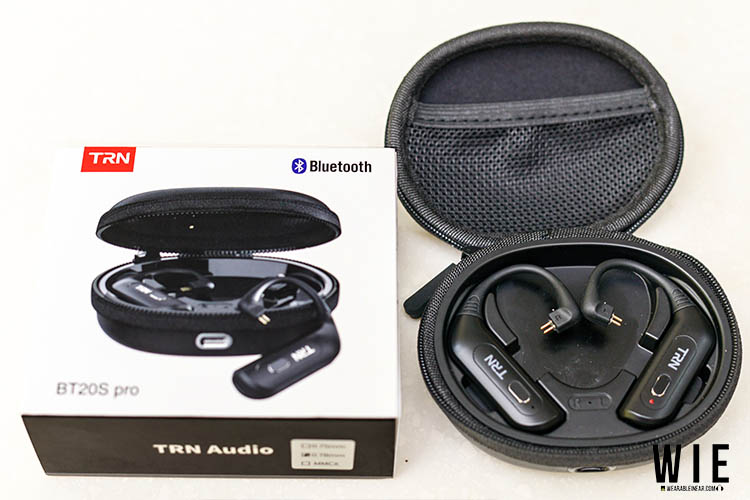 bt20s pro packaging and accessories