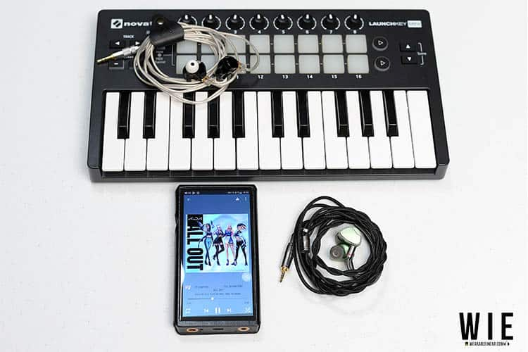IEMs with DAP and MIDI Controller