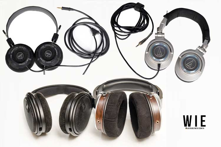 Closed Back and Open Back Headphones