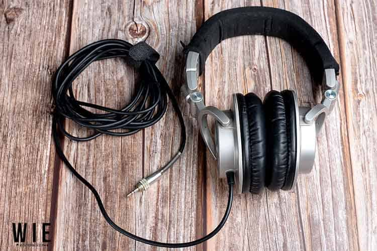 Audio Technica M50 with cable