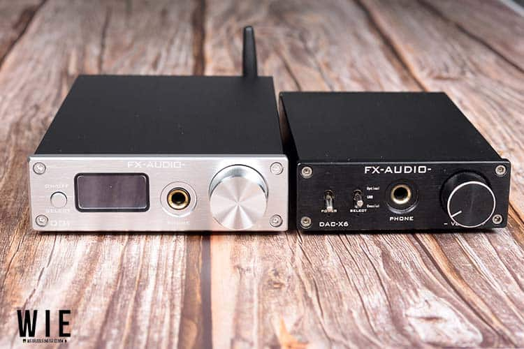 FX Audio DAC D01 and X6