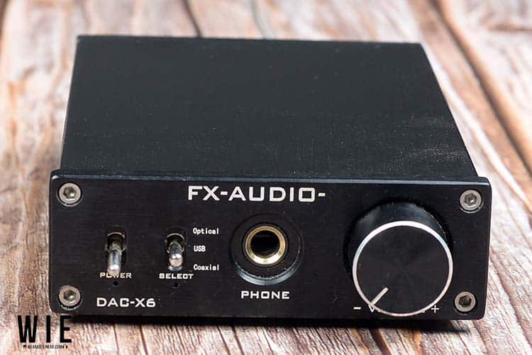 FX Audio DAC Front View