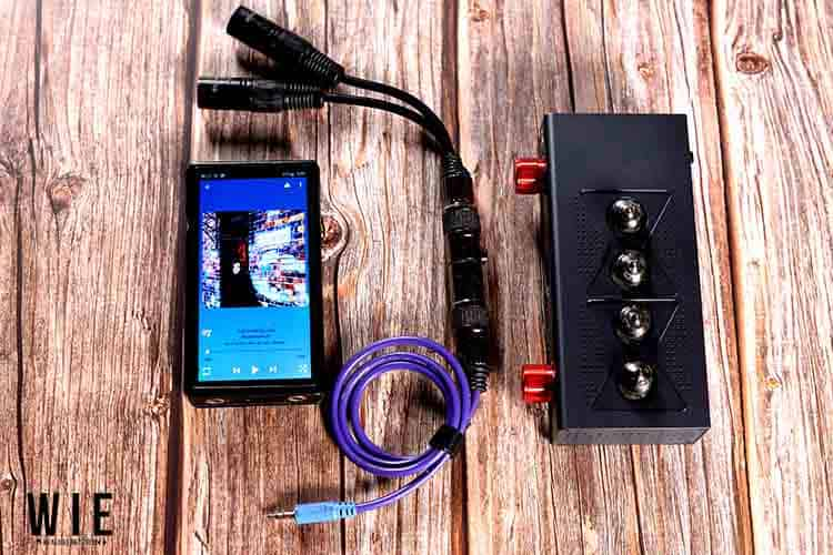 xDuoo MT604 Tube Amp with Fiio M11 and XLR Cable